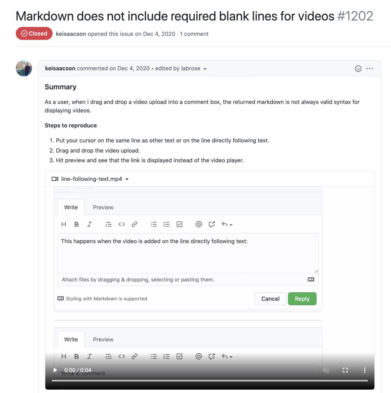 GitHub video