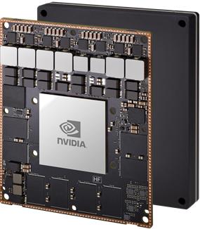 Intelligenza artificiale edge Nvidia