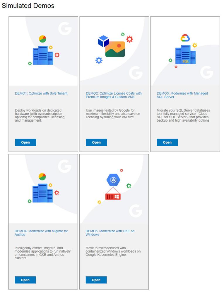 Microsoft Windows Google Cloud