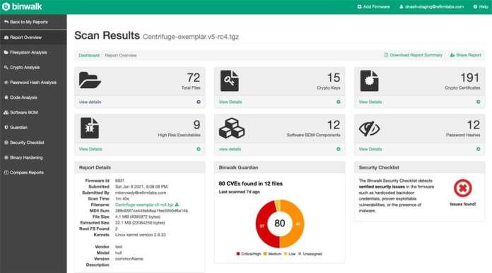sicurezza IoT Microsoft ReFirm Labs