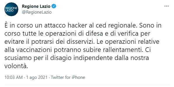 hacker lazio