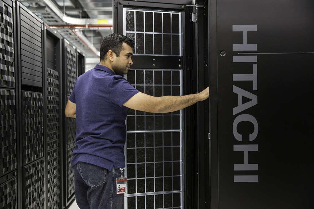 Hitachi vantara data center