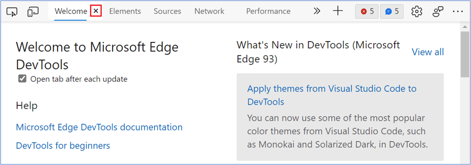Microsoft Edge DevTools