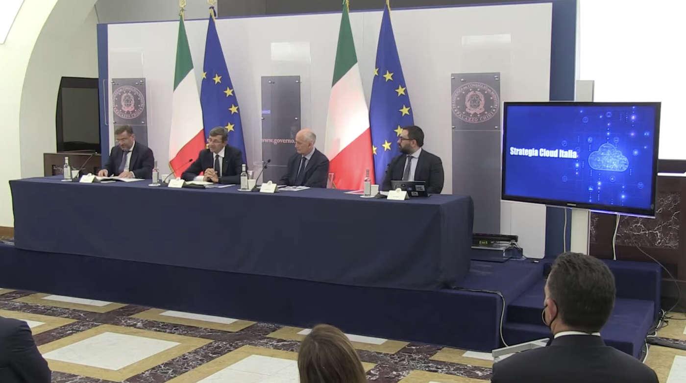 strategia cloud italia