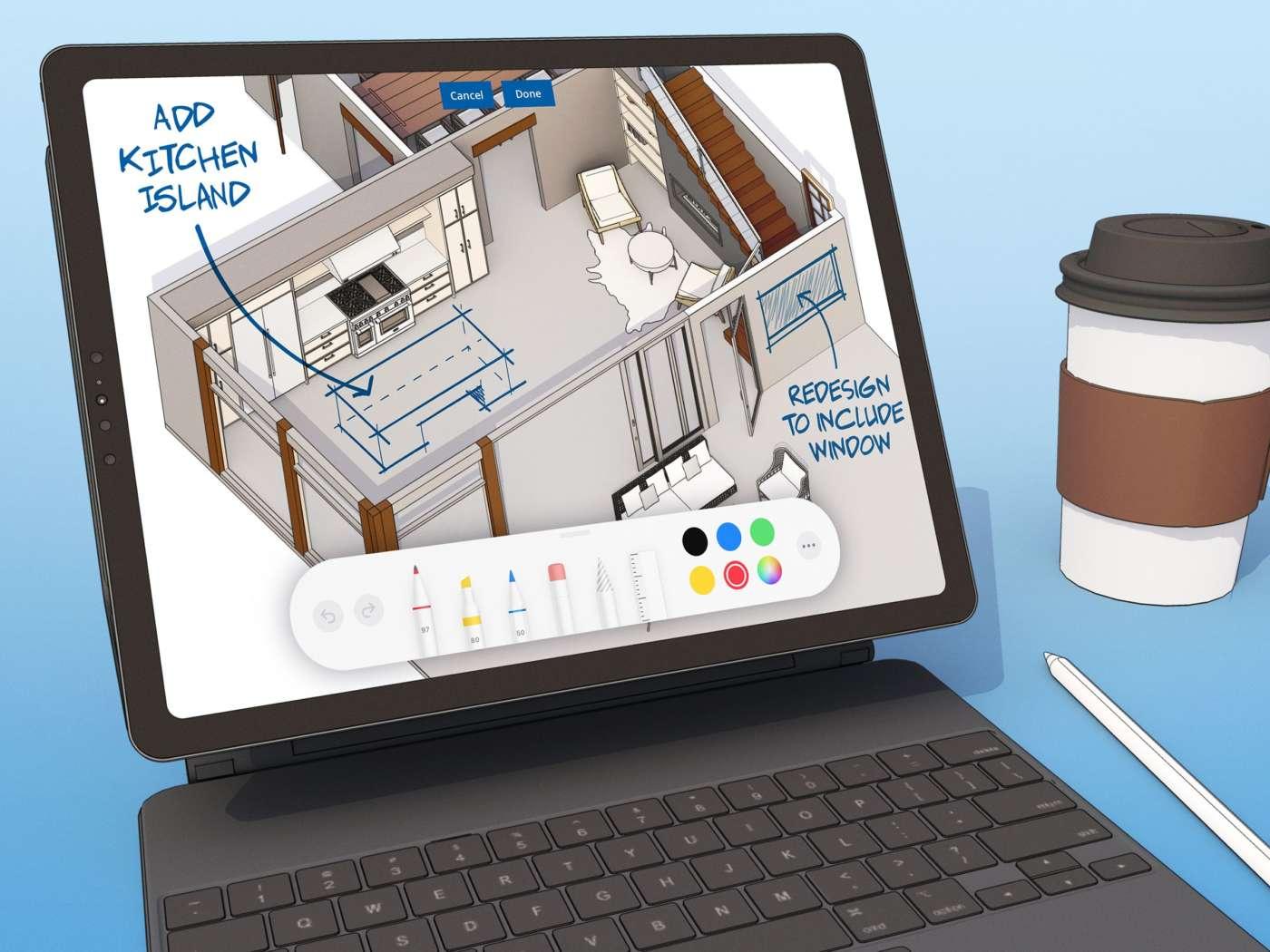 SketchUp per iPad