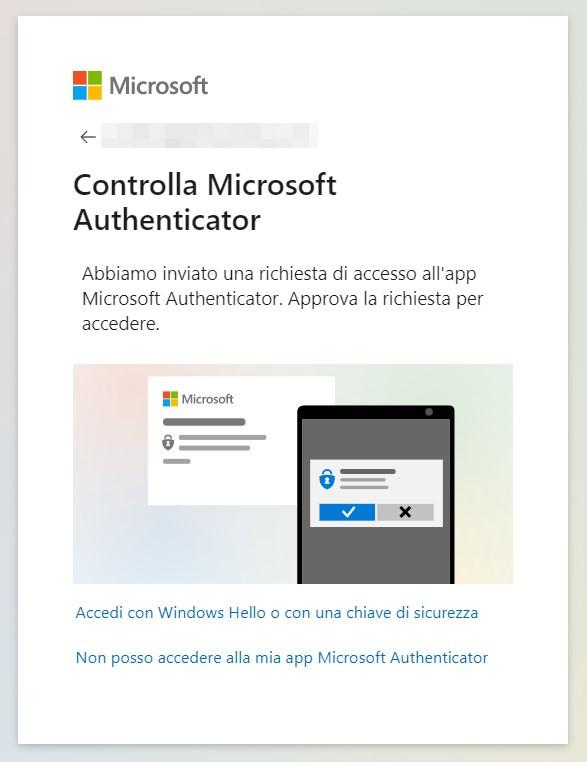 Microsoft password
